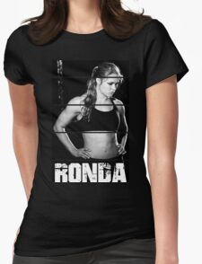 ronda rousey Womens Fitted T-Shirt