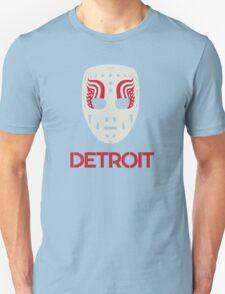 Vintage Detroit Red Wings Goalie Mask Unisex T-Shirt