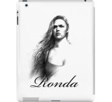 ronda rousey iPad Case/Skin
