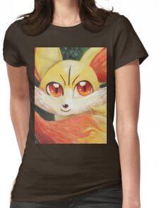 Fire Up Fennekin!!! Womens Fitted T-Shirt