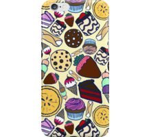 Dessert Pattern iPhone Case/Skin