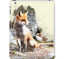 Fox in the Forest iPad Case/Skin