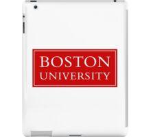 Boston University iPad Case/Skin