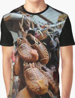 Opinci, traditional Macedonian footwear Graphic T-Shirt