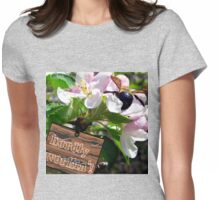 hardly workin'! Womens Fitted T-Shirt
