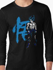 Goku in blue Long Sleeve T-Shirt