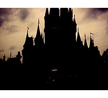 Where Dark Dreams Come True Photographic Print