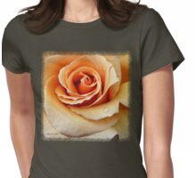 Whiskey Rose ~ Smoky and Sensuous Womens Fitted T-Shirt