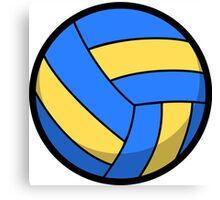 Cool and Cute Volleyball Canvas Print