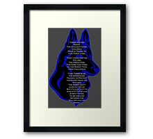 The Sheepdog Framed Print