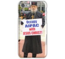 Occupy AIPAC with Jesus Christ iPhone Case/Skin