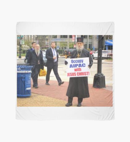 Occupy AIPAC with Jesus Christ Scarf