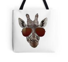cool giraffe is cool   Tote Bag