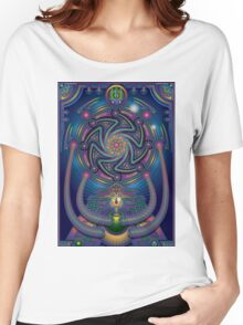 Unique abstract poster designs-Shiva the destroyer Women's Relaxed Fit T-Shirt