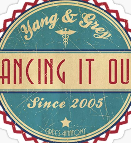 Grey's Anatomy - Dancing it out Sticker