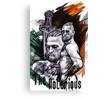 mc gregor Canvas Print