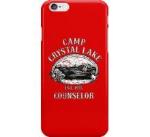 Camp crystal lake iPhone Case/Skin