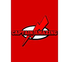 Captain Amazing Photographic Print