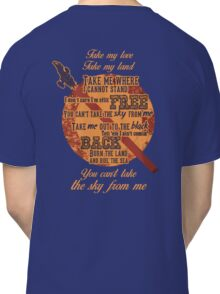 Firefly Ballad of Serenity Classic T-Shirt