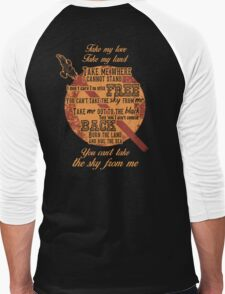 Firefly Ballad of Serenity Men's Baseball ¾ T-Shirt