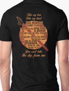 Firefly Ballad of Serenity Unisex T-Shirt