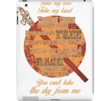 Firefly Ballad of Serenity iPad Case/Skin