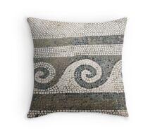 Ancient Mosaic Throw Pillow