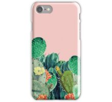 CACTI SUNSET iPhone Case/Skin