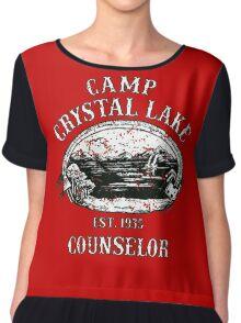 Camp crystal lake Chiffon Top