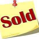 Sold Sticker by aldona