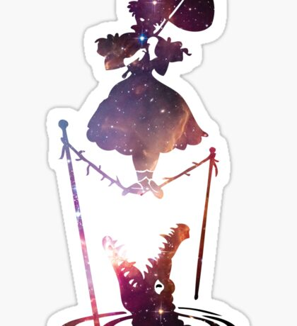 Tight Rope Lady Sticker