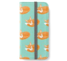 Sleepy Fox iPhone Wallet/Case/Skin