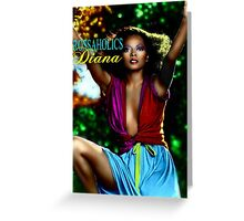 DIANA ROSSAHOLICS BOSS Greeting Card