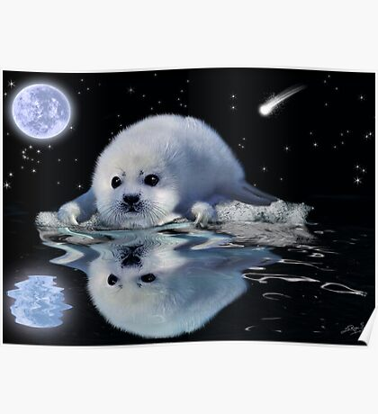 DESTINY The Harp Seal Poster