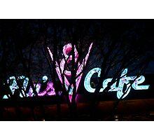 Carsland at night Photographic Print