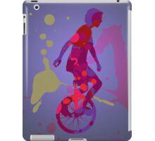 The Unicyclist iPad Case/Skin