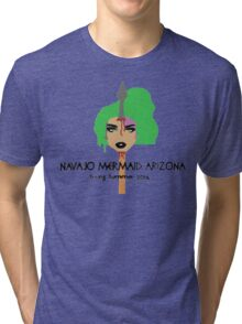 NAVAJO MERMAID PROMO 1 Tri-blend T-Shirt
