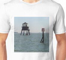 The Low Lighthouse, Dovercourt, 1863 Unisex T-Shirt