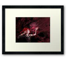 Blood Magic Framed Print