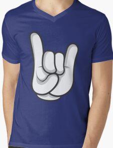 Good Gloves • Wolf Mens V-Neck T-Shirt