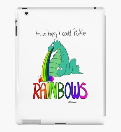 Rainbow Sarcasm iPad Case/Skin