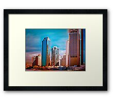 Brisbane From The River Framed Print
