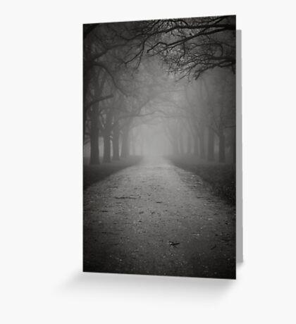 Towards The Light Greeting Card