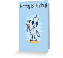 Ned's Ice Cream Birthday Card Greeting Card