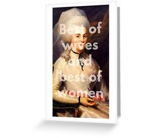 Best of Wives and Best of Women Greeting Card