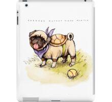 Pugtle 2: clean background version iPad Case/Skin