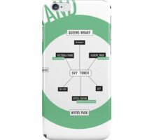 City Infographic / Auckland iPhone Case/Skin