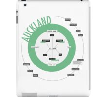 City Infographic / Auckland iPad Case/Skin