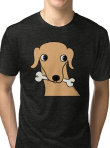 Devo Tippet The Whippet  Tri-blend T-Shirt