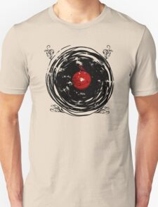 Enchanting Vinyl Records Vintage Twirls T Shirt T-Shirt